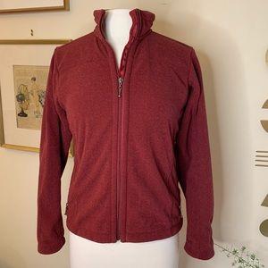 Patagonia Synchilla women's zip front jacket, sz s